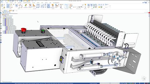 CAD Össezállítás
