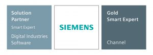Siemens Digital Industries Software Smart Expert Gold Solution Partner logo