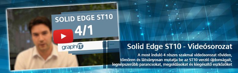 Solid Edge ST10 videó banner