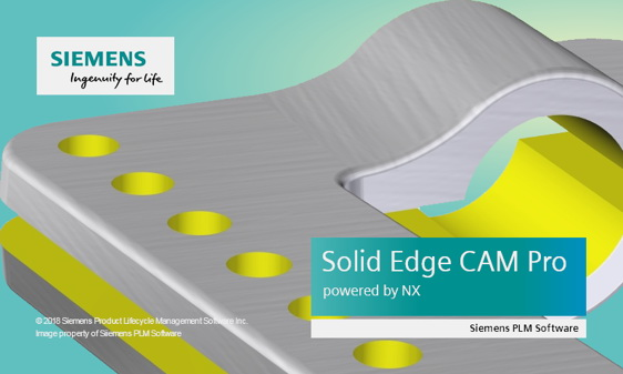 Solid Edge CAM Pro powered by NX CAM