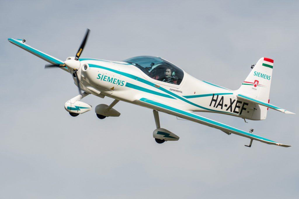 eFusion: a Siemens PLM segítségével tervezett elektromos repülőgép