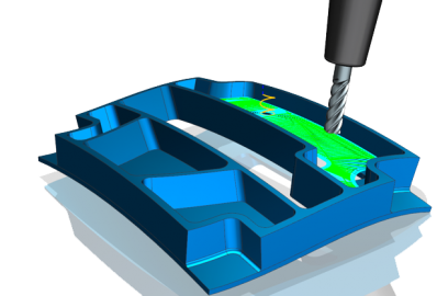 3D CAM útvonal