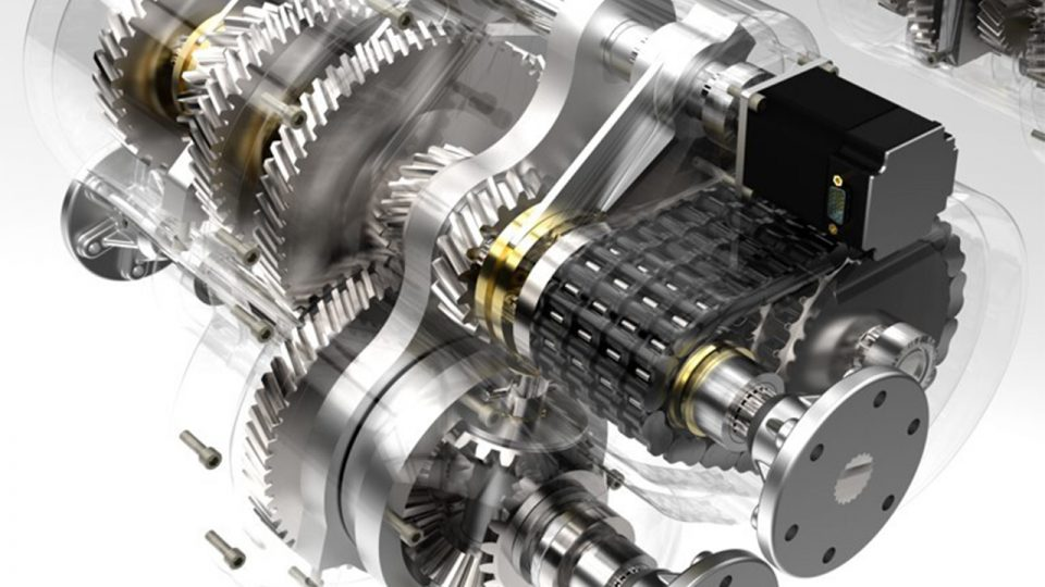 3D Modell motorblokkról