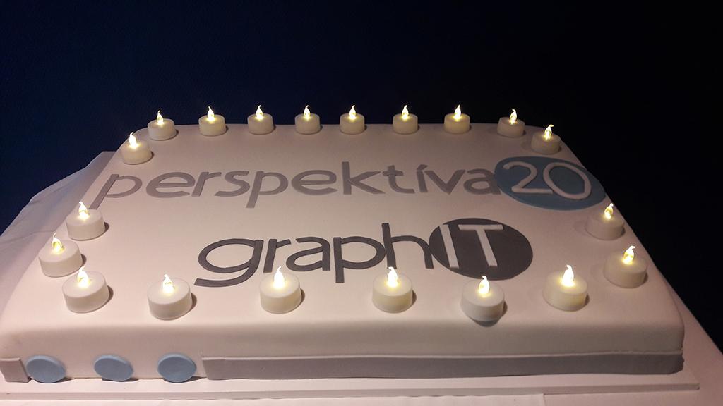 Perspektíva (20) – graphIT születésnapi torta